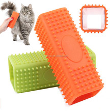 Creative Eays Clean Hollow Rubber Pet Dog Cat Hair Remover Cleaner Brush