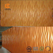 Top Grade Paint 3D Special Designs MDF Wall Panels Wave Pattern Interior Decoration Board