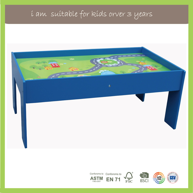 Preschool Kids New Multifunction Train Table Set For Kids Activity Toys