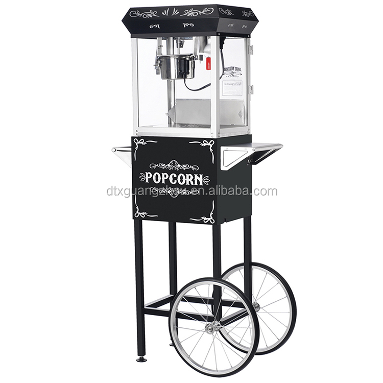 6oz Flavored Popcorn <strong>Machine</strong> With Cart 6116