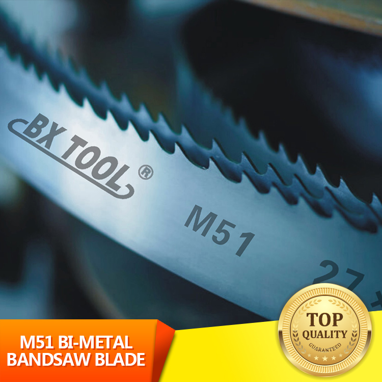 M51 bi-metal bandsaw blade Belt Saw Blades CHEAPEST BEST CUTTING