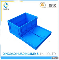 Wholesale PP clear plastic packaging boxes handled moving boxes