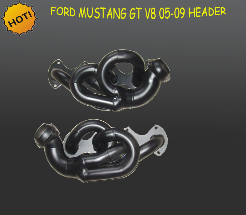 STAINLESS STEEL PERFORMANCE HEADER FOR FORD MUSTANG GT/SHELBY 4.6L V8 05-10 EXHAUST (Fits: Ford Mustang)