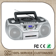 2016 hot cassette dvd player recorder with radio cd player