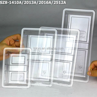 Plastic fruit and vegetable packaging tray