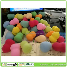 all kinds of different shape cosmetic beauty promotion gift latex free make up sponge