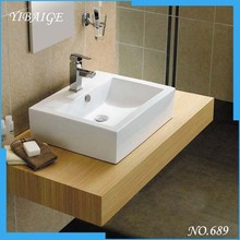 Portable China manufacture ceramic Small Toilet hand wash basin