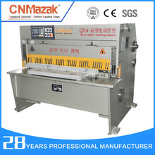 shearing machineQ11A-12*4000 China Supplier Electric Rail Cutting Saw Machine