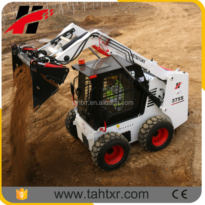 skid steer loader TY 375 with 4 in 1 bucket