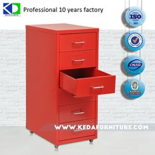 Iron cupboard/knock down 3 drawer /good quality/low price