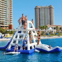 Best sale inflatable water rock climbing wall