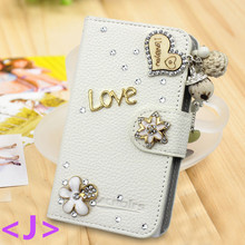 3d bling crystal wallet design flip case for iphone5 se, rhinestone diamond case for iphone 5