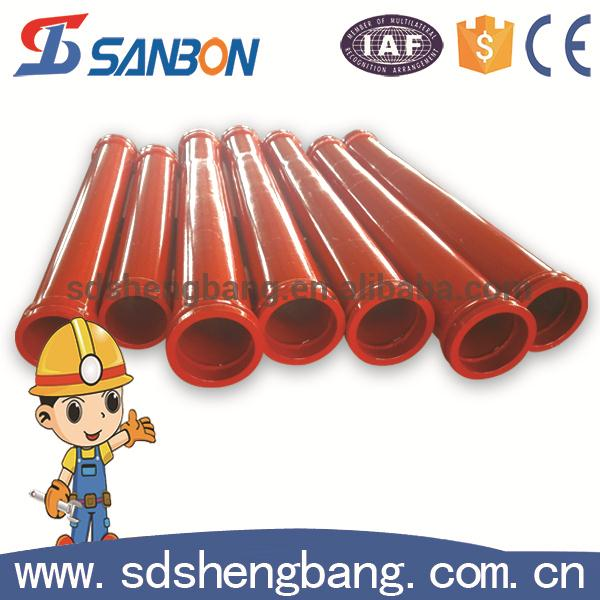OEM manufacturer Double wall flange sany concrete pump pipe for construction