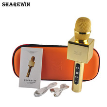 Portable wireless karaoke best microphone for bluetooth mini ktv