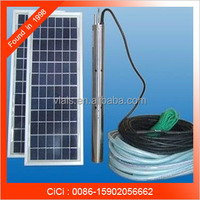 DC solar submersible pump, solar powered submersible water pumps, solar water pumps for wells