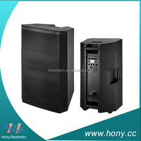 "12"" Empty Enclosure Plastic Molded Speaker Cabinet for sale"