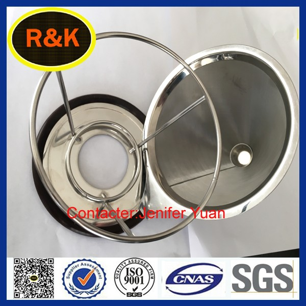 Stainless steel pour over coffee filter mesh