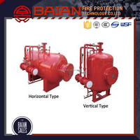 Fire Suppression System For Foam Bladder Tank