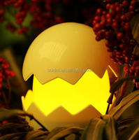 Cartoon Chick Egg LED Night Light Touch Control Baby Nachtlicht/Custom Own Design Kids Light Night China Factory
