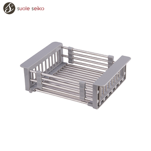 Customize 304 201 Stainless Steel Kitchen Sink Small Sink Drain Wire Mesh Basket