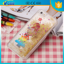 Glitter heart love hearts novelty pc christmas mobile phone case for iphone6