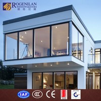 ROGENILAN all kinds customized aluminium frame glass sunroom