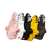 Wholesale Cheap Custom Soft Cotton Pet Clothes Small Dog Sports Sweater Hoodies