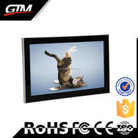 "18.5"" Wall Mount Display System Lcd Advertising Player Free Sex Movie Download Video Loop Usb Wall Mounted Advertising Player"