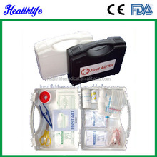 Within 12 hour reply fashion Emergency first aid kit box essential contents CE FDA