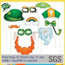 St. Patrick's Day Handheld Costume Photo Props Accessories