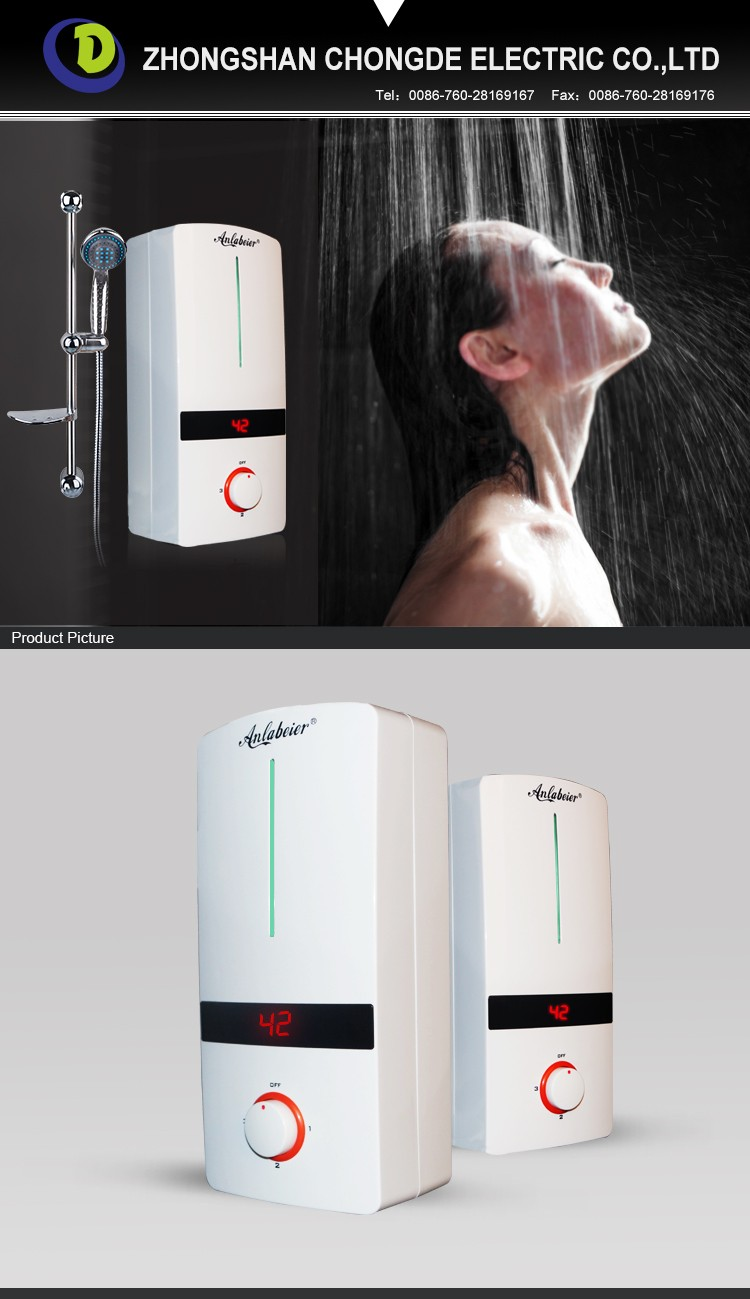energy efficient instant electric water heaters sell to Japan