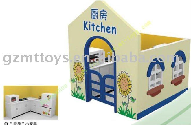 Children indoor wooden playhouses for kids