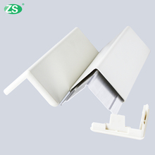 Rigid PVC Drywall Round Angle Corner Bumper Guards with Aluminum Retainer Inside