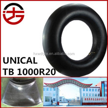 wholesale Chinese top quality tyre butyl inner tube 1000-20 tires tube