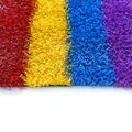 18900 density 20mm height rainbow colorful running track artificial turf lawn