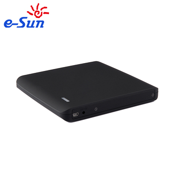 Super Slim Portable Tray loading Burner External USB2.0 Blu ray DVD Drive for Laptop