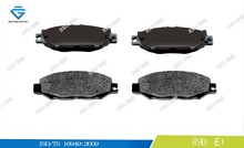 Brake pads for LEXUS D613 0446650030 21787 GDB1240