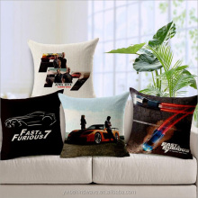Custom Fast&Furious 7 cushion covers