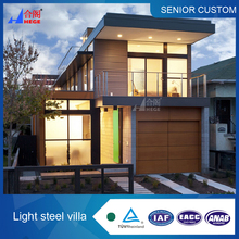 Fashional designed prefab villa thermal insulation durable and comfortable living