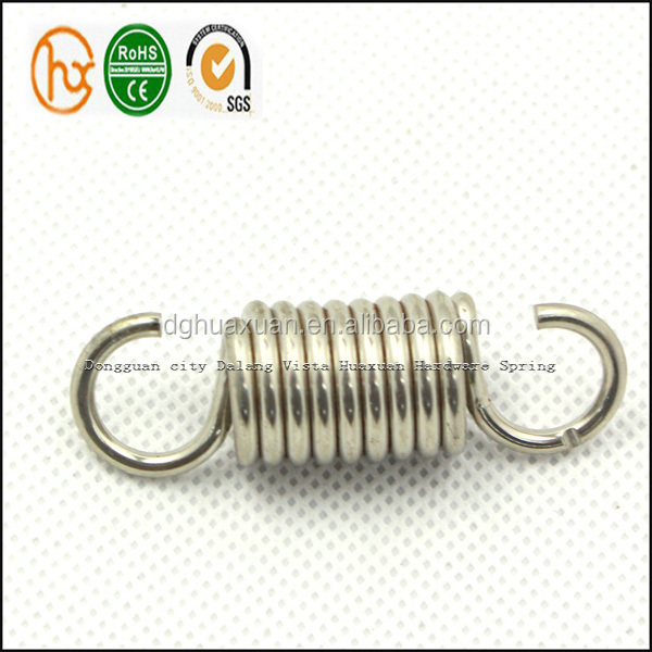 Metal Double Hook Tension Springs for machine