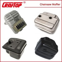 muffler for chainsaw ( other parts for ST HUS PARTNER chainsaws available)
