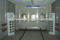 water based baking coated oven(curing oven) powder coated painting machine car spray booth