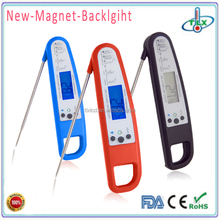 Bimetal Instant Read liquid crystal thermometer