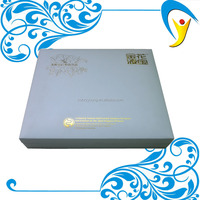 Paper Material and Gift & Craft Industrial Use Gold Stamping Logo Custom Printing Paper Box