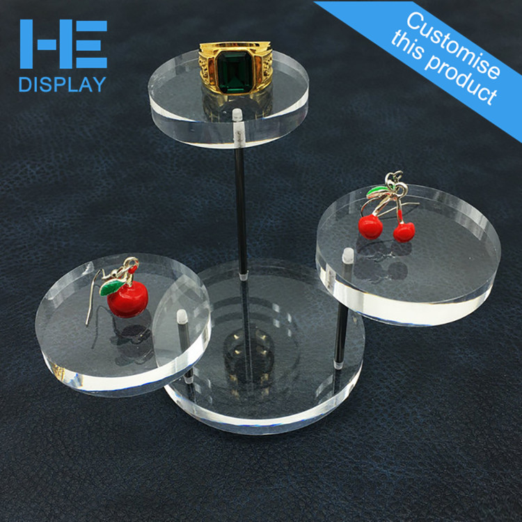 cheap discount commercial retail white countertop unique jewelry display stands