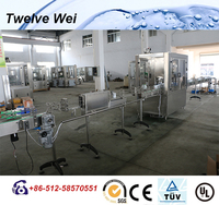 New Design Gas Water Bottle Filling Line/Soft Production Plant