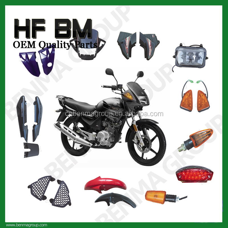 YBR125 Motorcycle Body Plastic Cover Parts