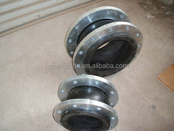 best seller rubber expansion joint with flange end PN16