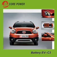 5 seats pure battery car electric charging Vehicle E-car