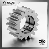 Professional custom steel large gear, metal gear wheel, double diameter small spur gear